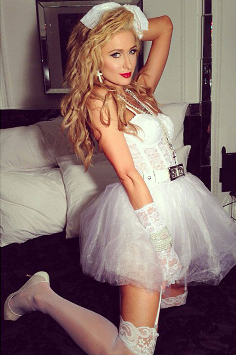 Paris Hilton costum Halloween