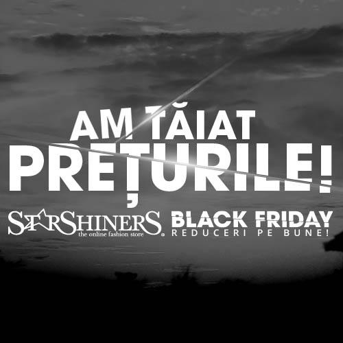 Promoțiile de -70% continuă: A început Black Weekend!