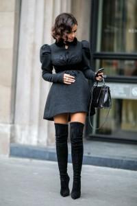 cizme peste genunchi fusta-rochie mini 4