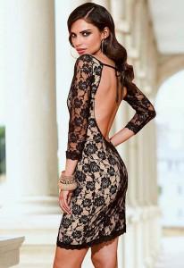 rochie de seara spatele gol