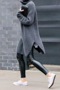 leggings pulover supradimensionat 2