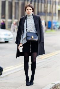 pulover supradimensionat fusta mini 2