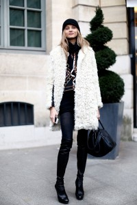 black-beanie-wooly-white-coat