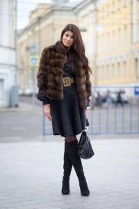 haina de blana cizme peste genunchi 2