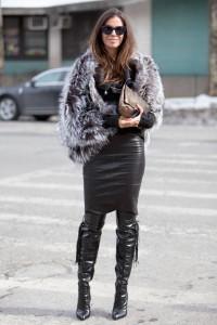 haina de blana cizme peste genunchi 4
