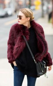 ochelari de soare cu haina de blana 2