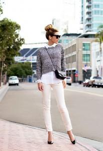 pulover scurt cu camasa 3