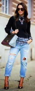pulover scurt cu camasa 5