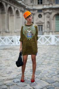 rochie tricotata tinuta sport chic 1