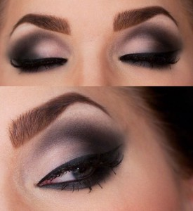smokey eyes machiaj brunete 1