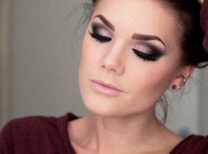 smokey eyes machiaj brunete 2