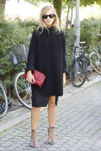 suprapuneri rochie tricotata cu fusta sau camasa  3