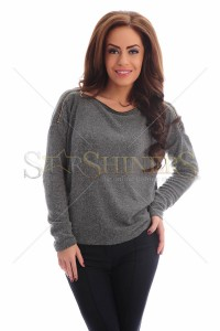 Pulover PrettyGirl Trendiest Grey