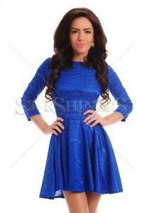 Rochie Artista Lacy Overlay Blue