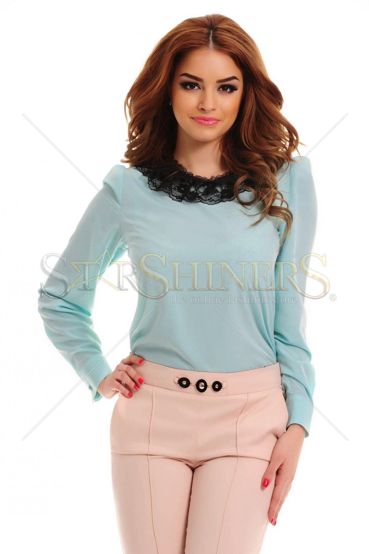Bluza LaDonna Tearfully Lace Blue