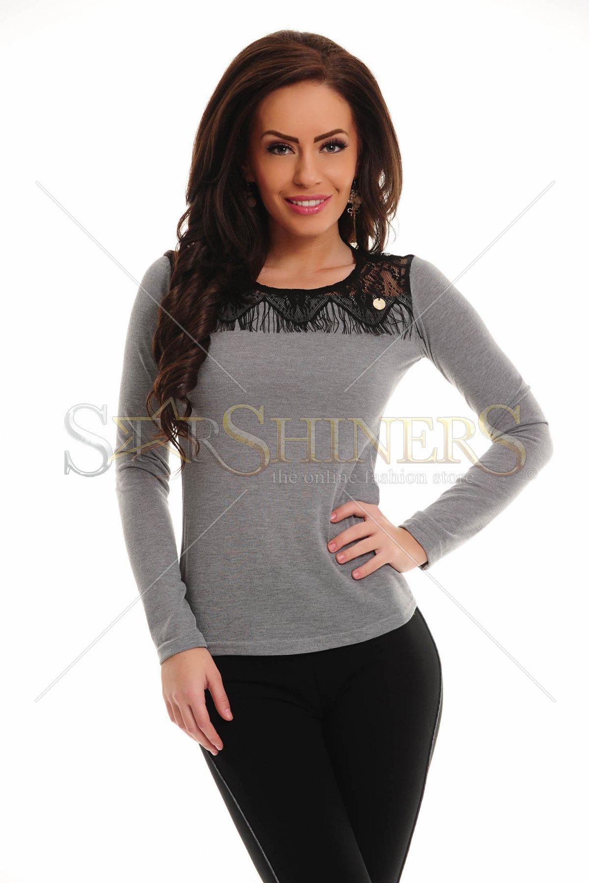 Bluza PrettyGirl Property Grey