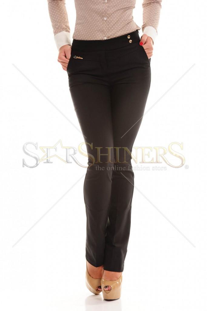 Pantaloni Fofy Prime Look Black