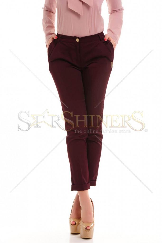 Pantaloni PrettyGirl Plotter Purple