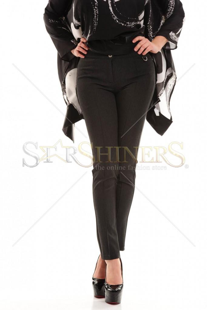 Pantaloni PrettyGirl Speculative DarkGrey