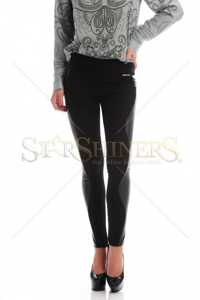 Pantaloni PrettyGirl Young Black