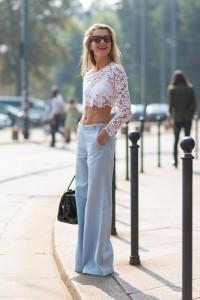 pantaloni largi tinuta note feminine 4
