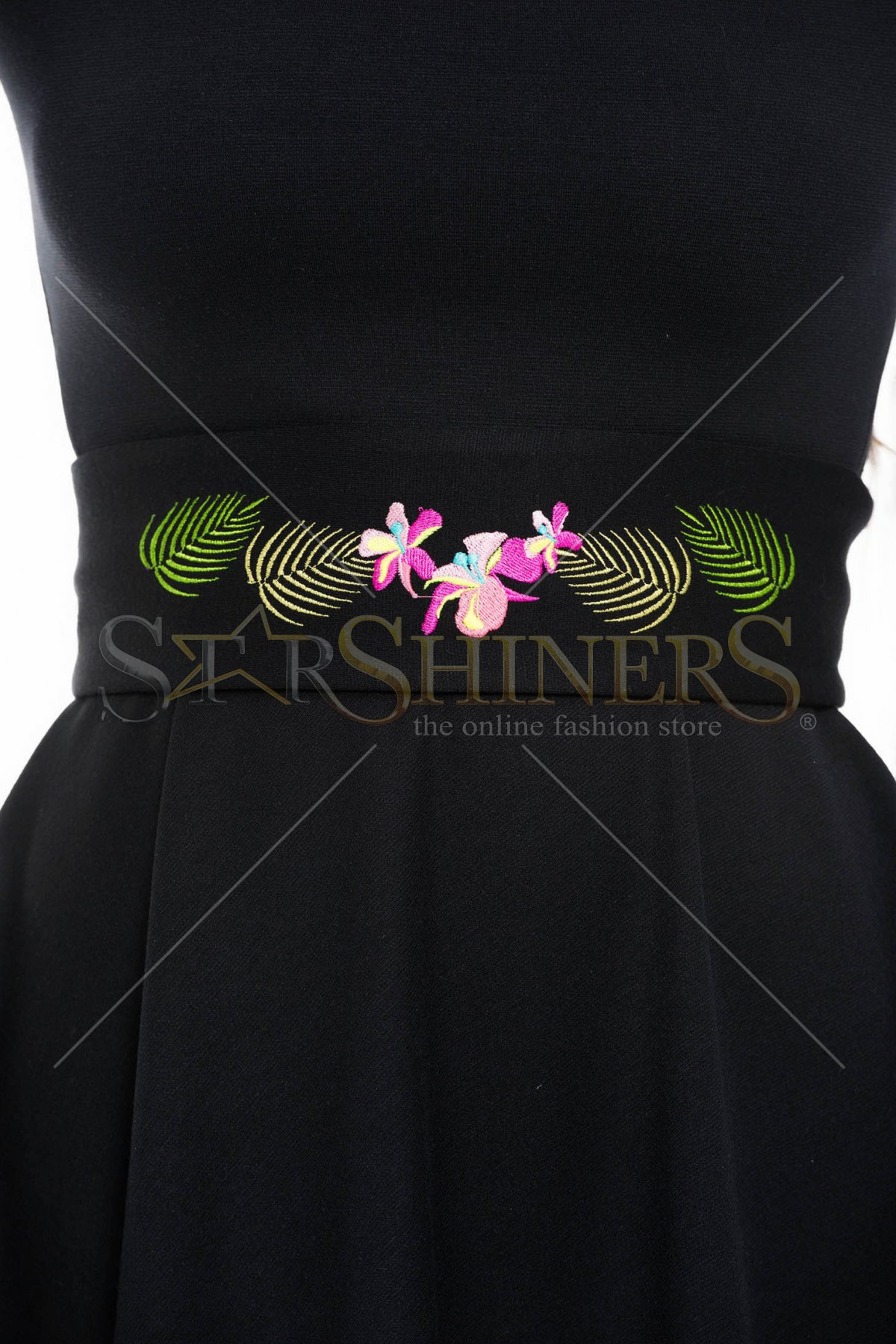 Curea StarShinerS Brodata Tropical Black