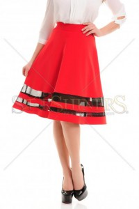 Fusta LaDonna Polite Trend Red