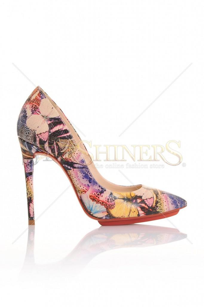 Pantofi Mineli Boutique Fabulous Black