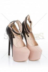 Pantofi Mineli Boutique Glamour Cream