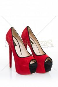 Pantofi Mineli Boutique Sublime Red