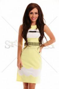 Rochie LaDonna Nineth Cloud Yellow