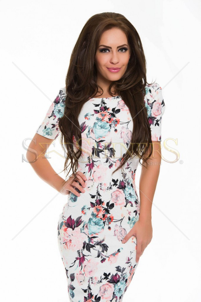 Rochie StarShinerS Unleashed White