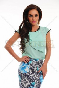 Bluza Fulminate Style Turquoise