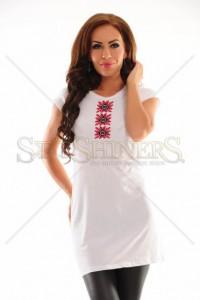 Bluza StarShinerS Brodata Vintage White