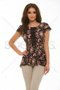 Bluza StarShinerS Starflower Black