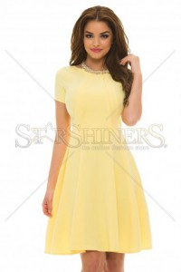 Rochie Artista Flared Girl Yellow