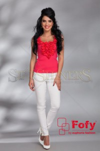 Top Fofy Lovely Comfort Coral