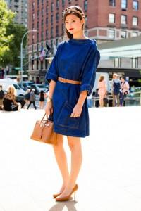 rochia din denim tinuta feminina 3