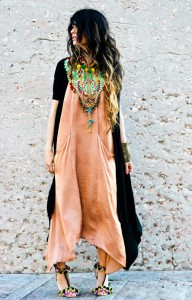 rochie maxi boho-chic