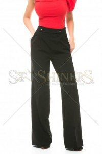Pantaloni Fofy Proper Limits Black