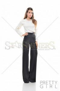 Pantaloni PrettyGirl Magnified Black
