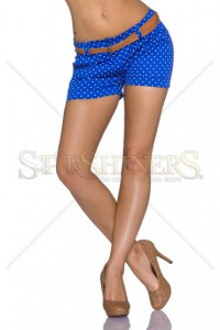 Pantaloni Scurti Summer Dots DarkBlue