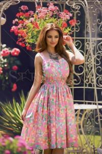 Rochie PrettyGirl Heat Pink