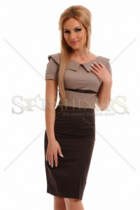 Rochie PrettyGirl Perfect Attitude Brown