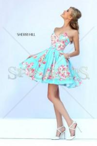 Rochie Sherri Hill 32246 Blue