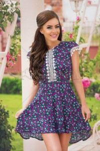 Rochie StarShinerS Delicious Purple