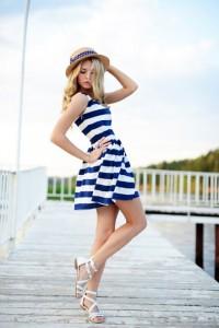 rochie  navy 3