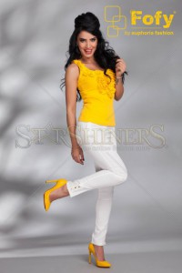 Pantaloni Fofy Awesome Pockets White