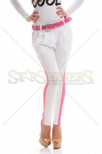 Pantaloni Mexton Blinding Look White