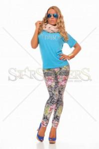 Pantaloni MissQ Jungle Girl Black